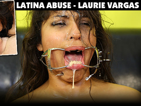 Latina Abuse Destroys Laurie Vargas